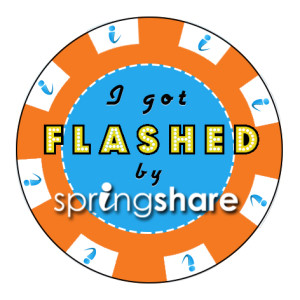 ALA Flash Sticker