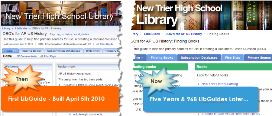 New Trier High School LibGuides