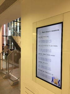 Digital Signage at Hull University