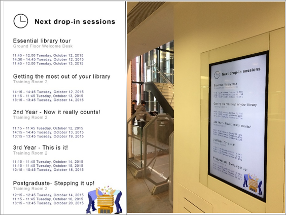 University of Hull Digital Signage