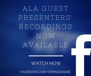 Guest Presentation Recordings Available on Facebook