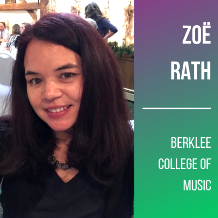 Zoe Rath, Berklee College of Music