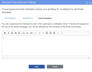 Email Introduction