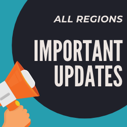 All Regions Important Updates